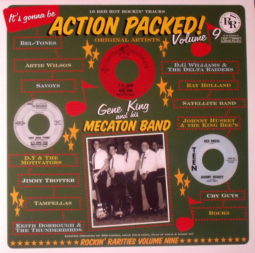 LP - VA - Action Packed Vol. 9