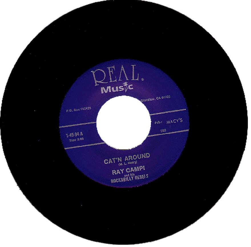 Single - Ray Campi - Can't Around, All The Time