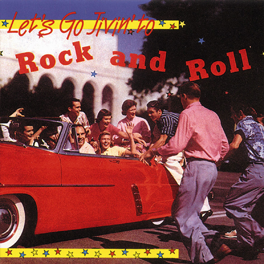 CD - VA - Let´s Go Jivin´ To Rock and Roll