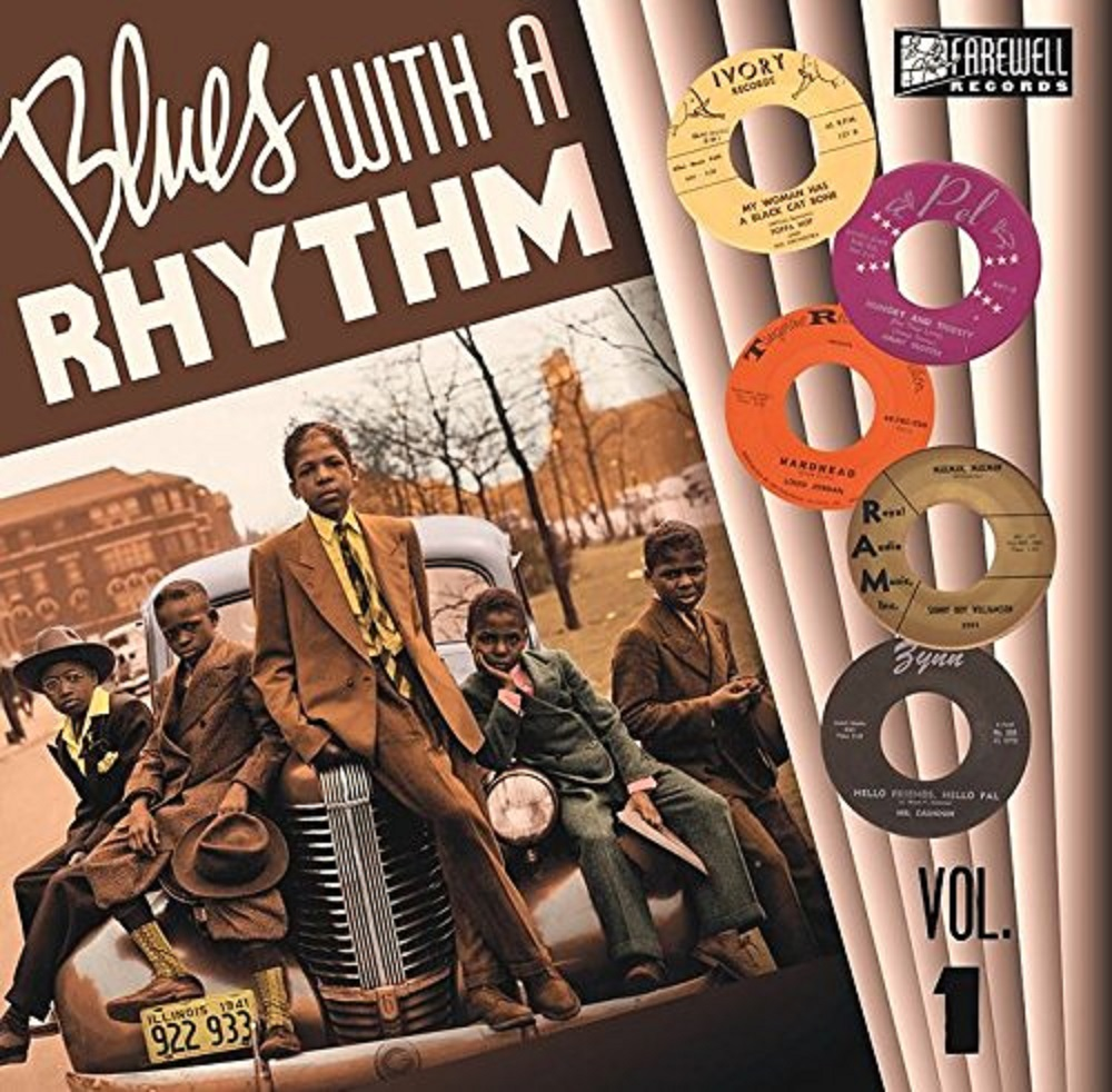 10inch - VA - Blues With A Rhythm Vol. 1