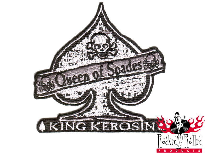 King Kerosin Aufnäher - Queen Of Spades