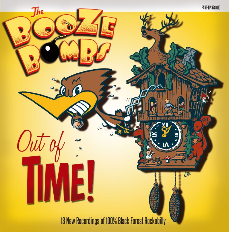 LP - Booze Bombs - Out Of Time