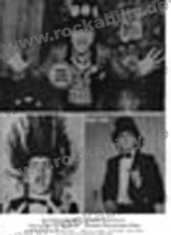 Autogramm-Foto - Screaming Lord Sutch - The Monster Lord