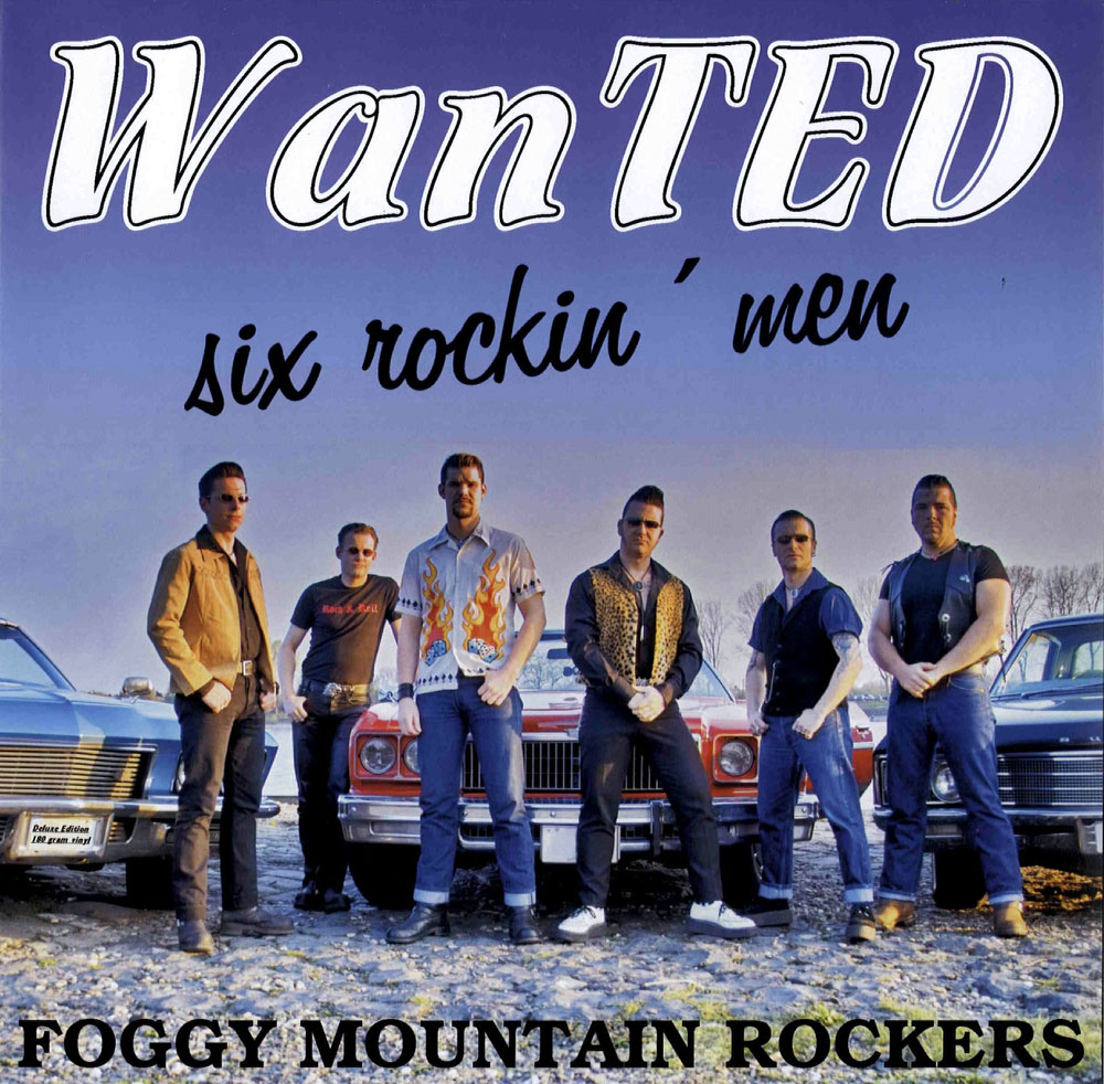 LP - Foggy Mountain Rockers - Wanted - Six Rockin Men