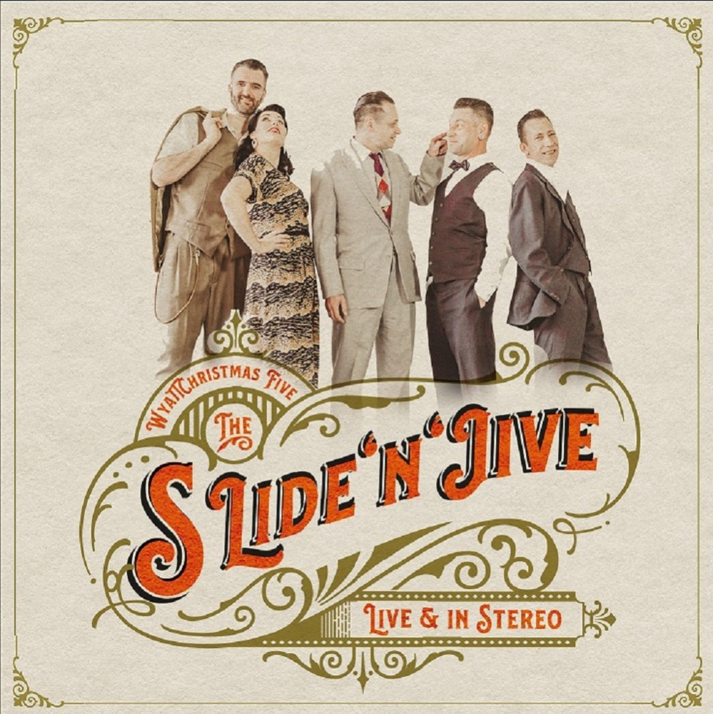 CD - WyattChristmas Five- Slide'n'Jive