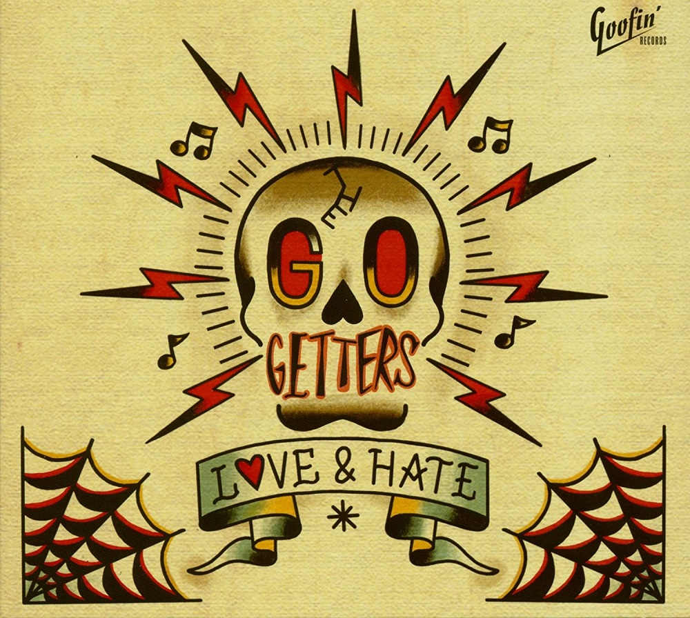 CD - Go Getters - Love & Hate