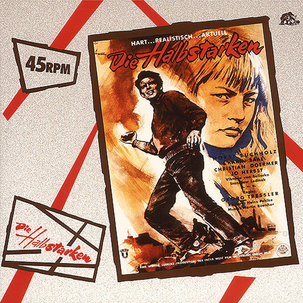LP - VA - MR. MARTIN'S BAND - Die Halbstarken (Soundtrack)
