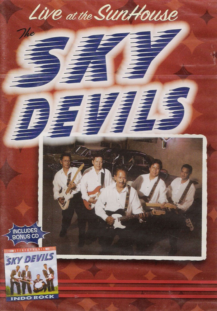 DVD - Sky Devils - Live At The Sunhouse