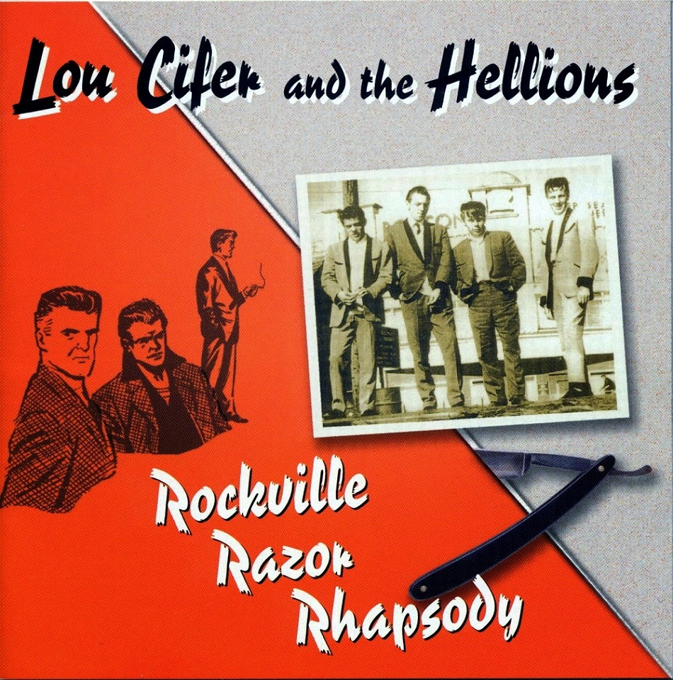CD - Lou Cifer & The Hellions - Rockville Razor Rhapsody