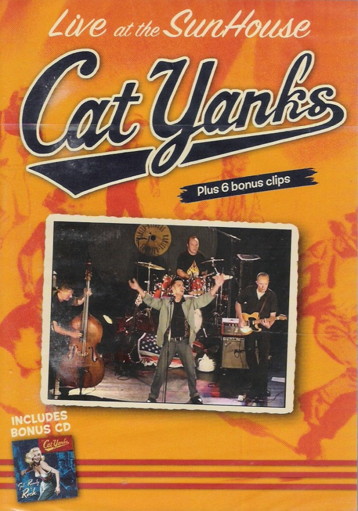 DVD - Cat Yanks - Live At The Sunhouse
