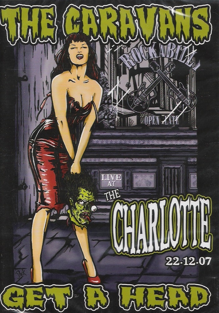 DVD - Caravans - Live At The Charlotte 2007 - Get A Head