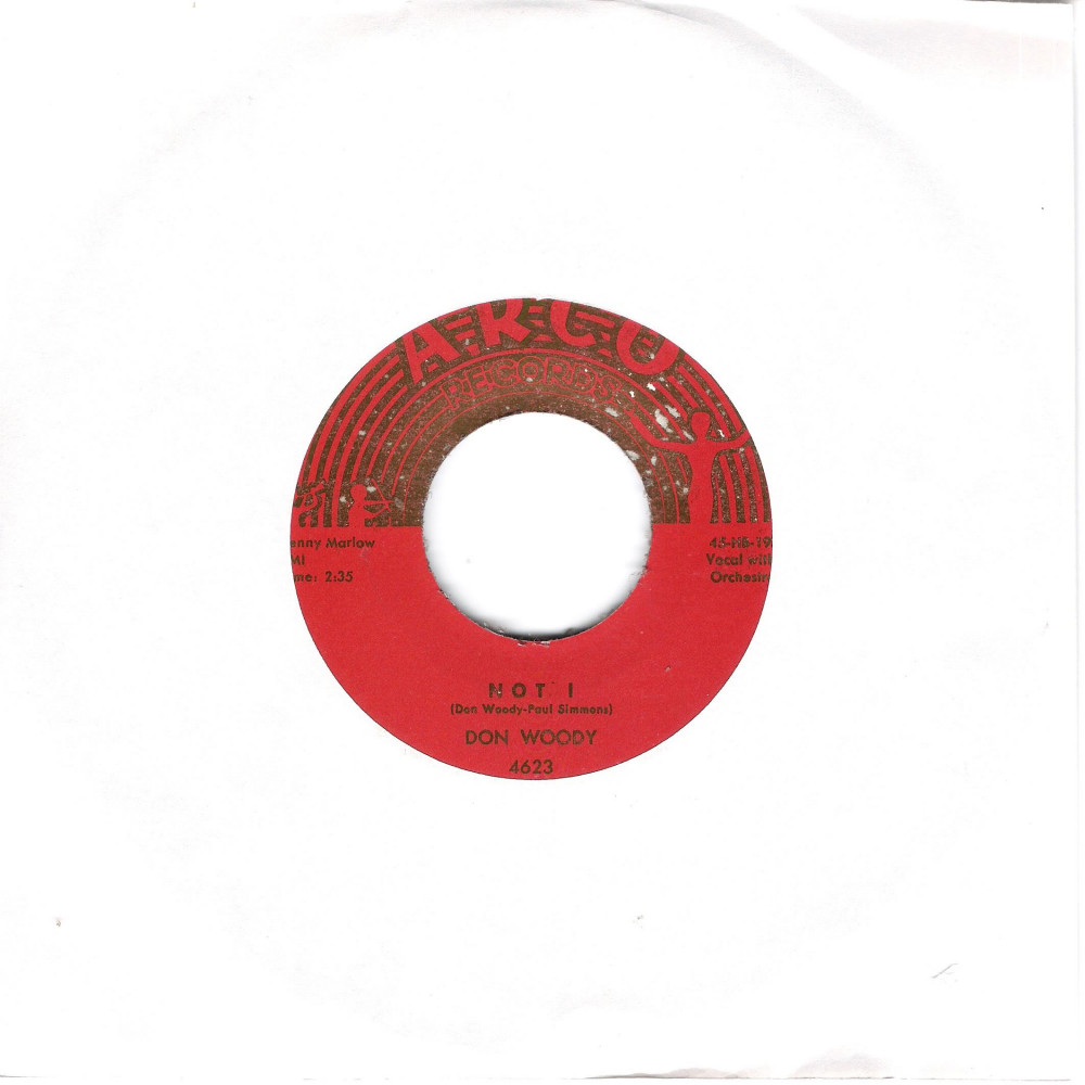 Single - Don Woody - Not !, Red Blooded American Boy