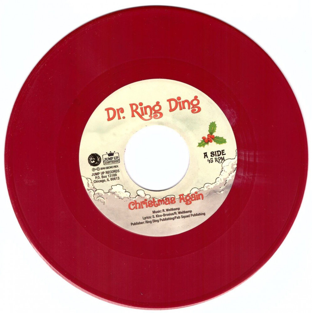 Single - Dr. Ring Ding - Christmas Again Rot