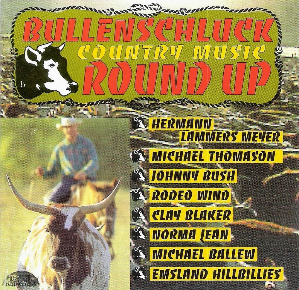 MajdnCD - VA - Bullenschluck - Country Music Round Up