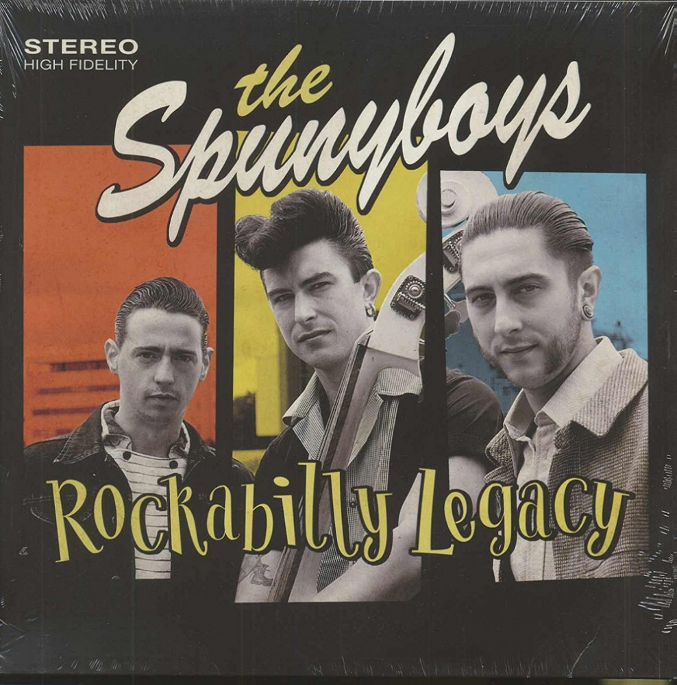 LP - Spunyboys - Rockabilly Legacy