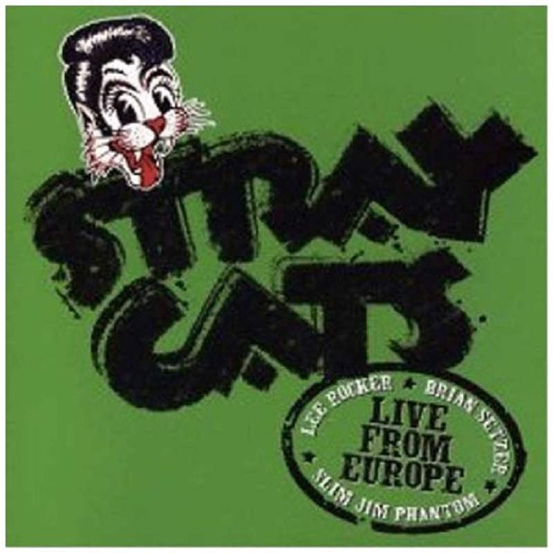CD - Stray Cats - Recorded Live In Barcelona 22nd July 2004