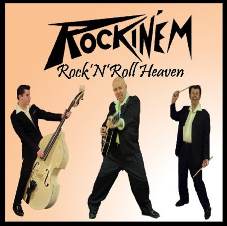 CD - Rockin'Em - Rock'n'Roll Heaven