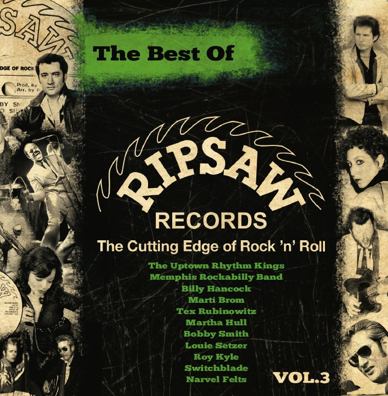CD - VA - Best Of Ripsaw Records Vol. 3