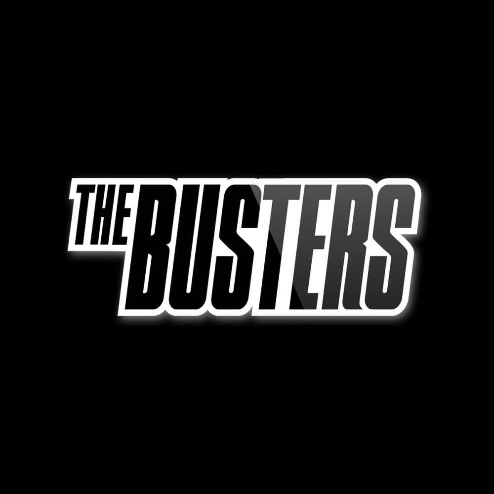 Aufkleber - Busters - Band Logo