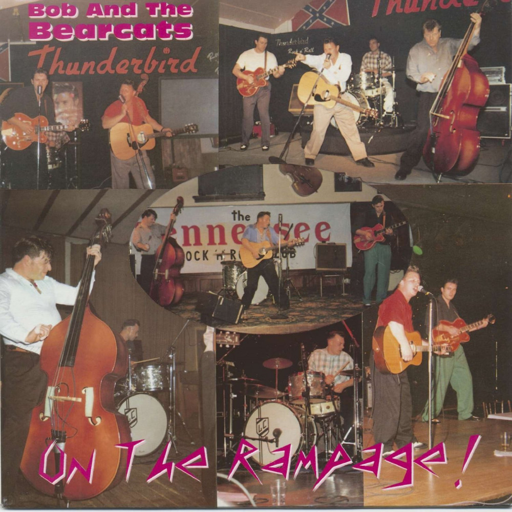 10inch - Bob & the Bearcats - On the Rampage