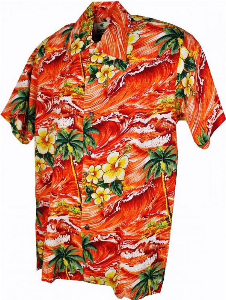 Hawaii - Shirt - Panama Orange