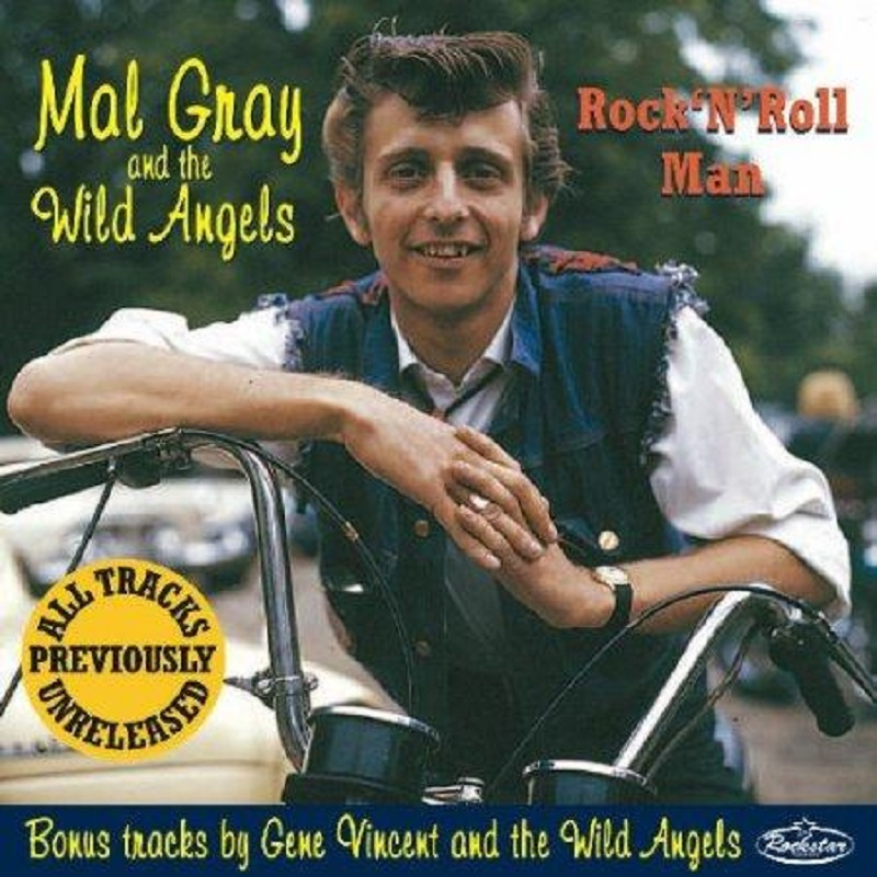 CD - Mal Gray & the Wild Angels - Rock'n'Roll Man
