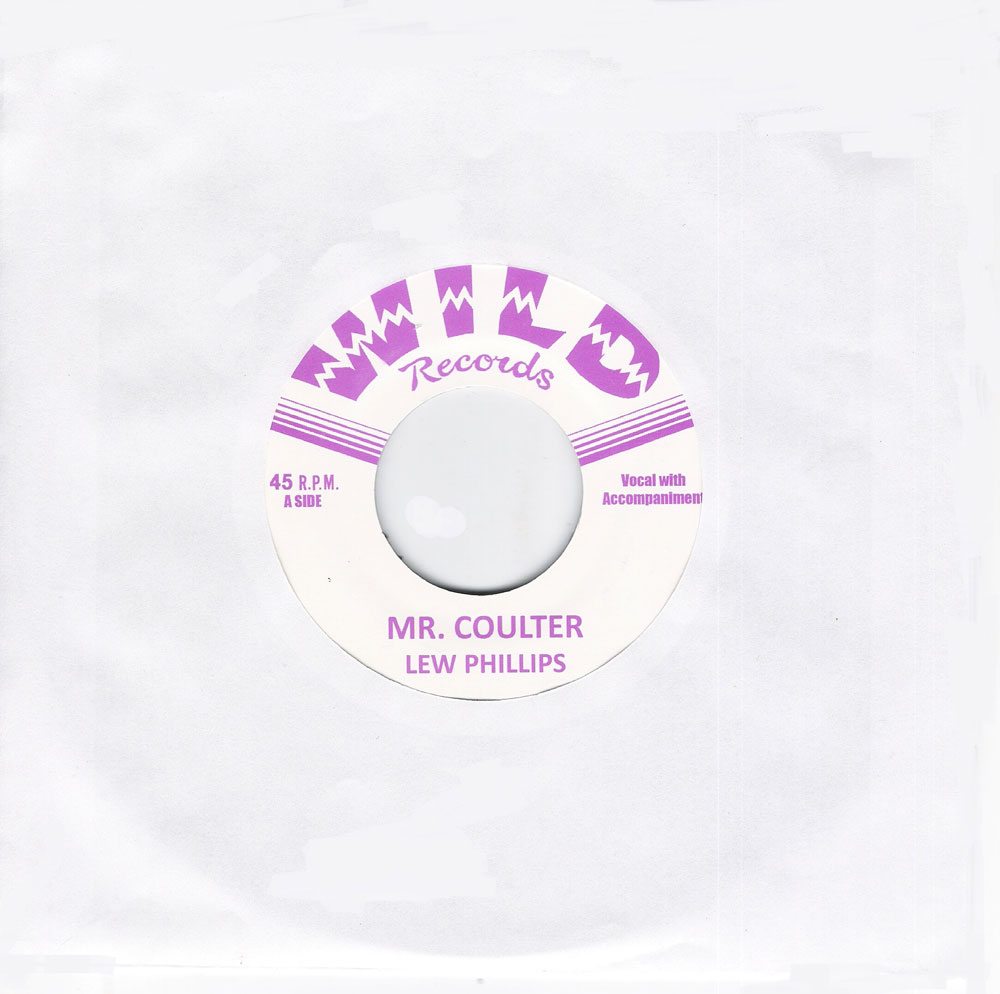 Single - Lew Phillips - Silent Love, Mr. Coulter