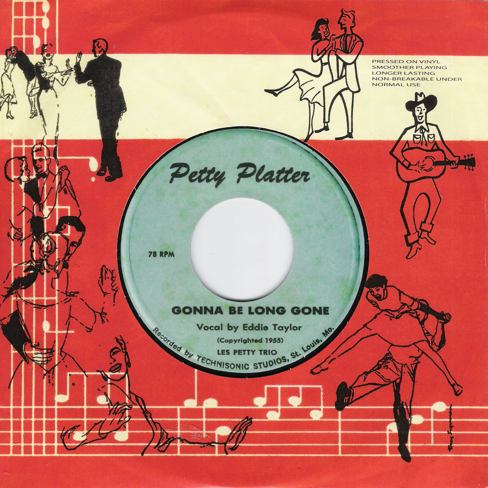Single - Eddie Taylor - Gonna Be Long Gone / Oh! Why Do I