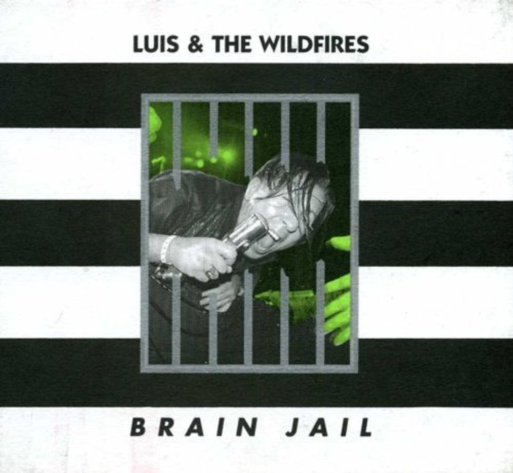 CD - Luis & The Wildfires - Brain Jail