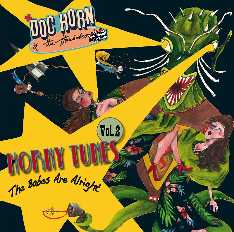 LP - Doc Horn & The Hornbabes - The Babes Are Alright