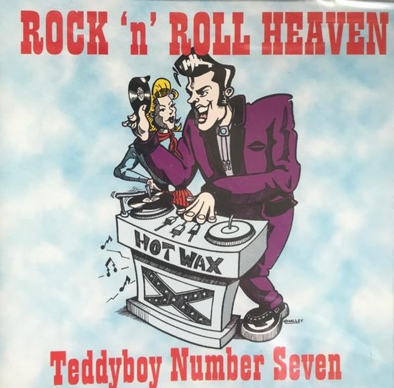 CD - VA - Rock 'N' Roll Heaven - Teddyboy No. 7