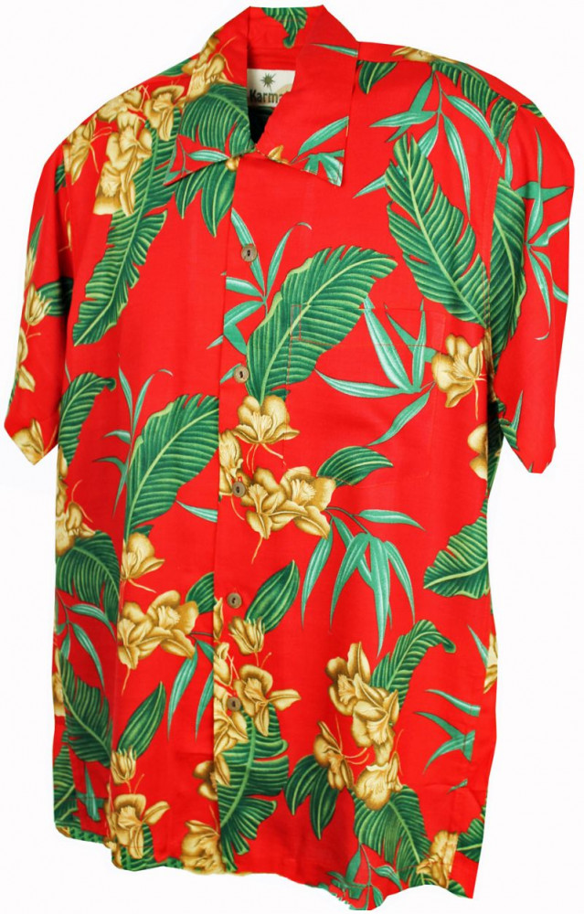 Hawaii - Shirt - Mcqueen Red