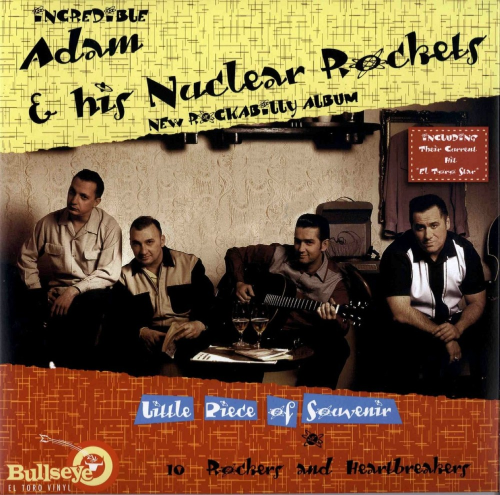 10inch - Adam & his Nuclear Rockets - Little Pice Of Souvenier