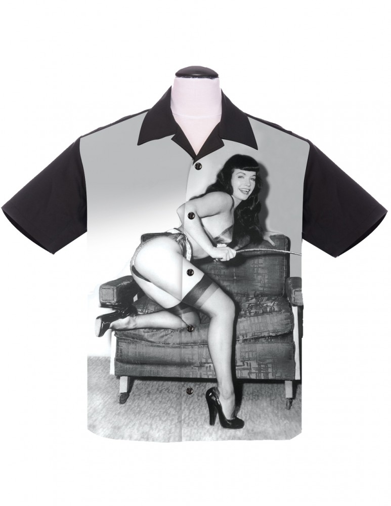 Steady-Hemd - Betty Page - Icon
