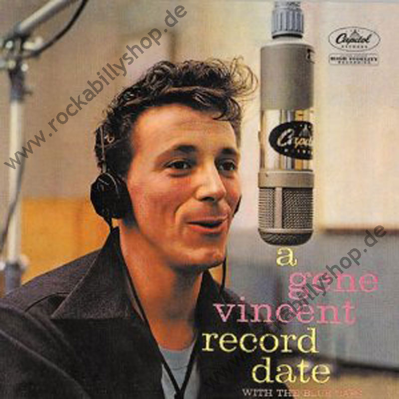 LP - Gene Vincent & The Blue Caps - Record Date With The Blue Caps