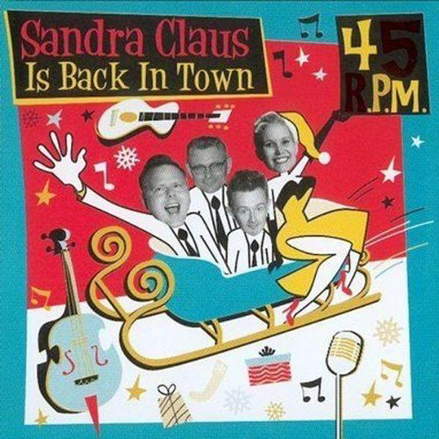 CD - 45 Rpm - Sandra Claus Is Back In Town
