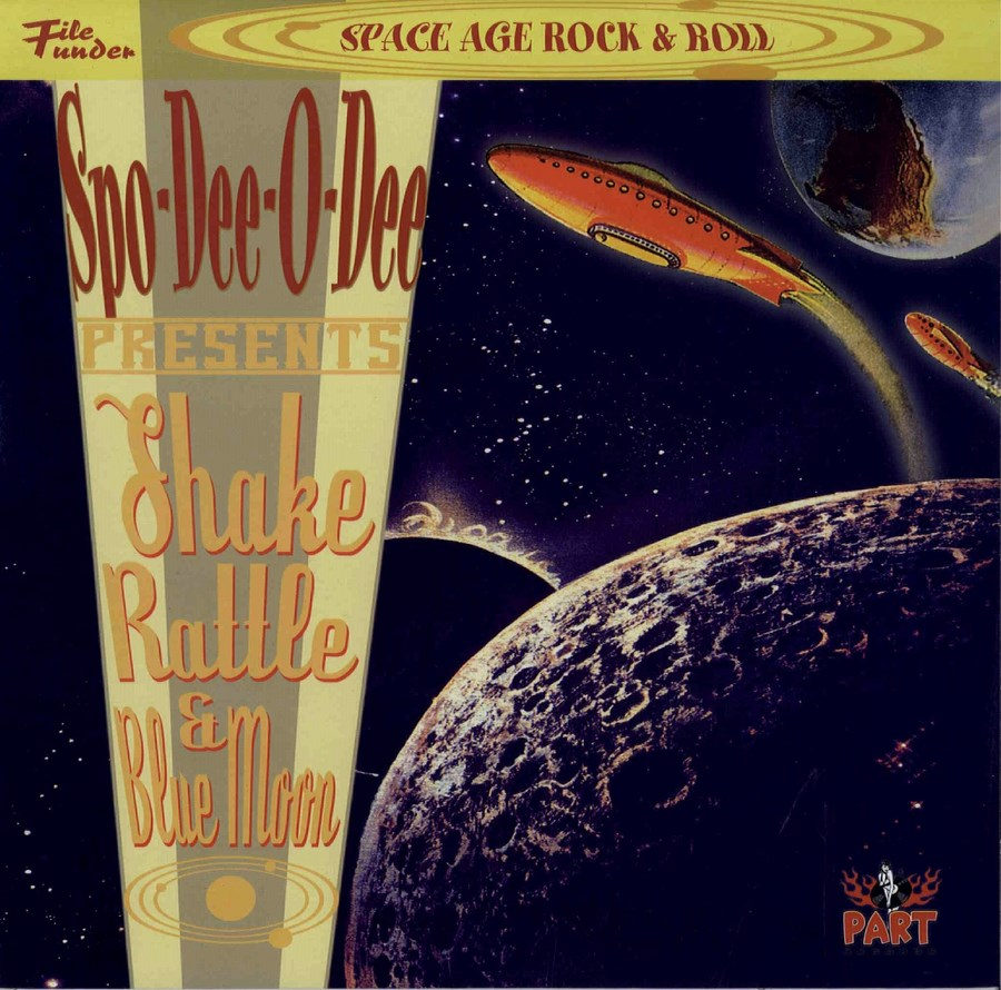 10inch - Spo-Dee-O-Dee - Shake, Rattle And Blue Moon