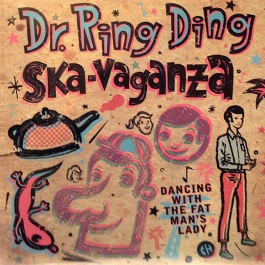 Single - Ska-Vaganza - Dancing With The Fat Man's Lady \ It Don't Mean It's Over
