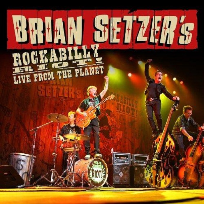 LP-3 - Brian Setzer - Rockabilly Riot! Live From The Planet