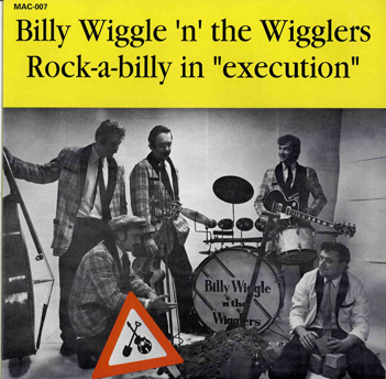 LP - Billy Wiggle & The Wigglers - Rock-A-Billy