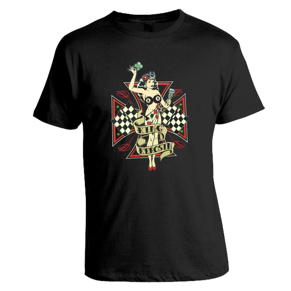 T-Shirt King Kerosin - Lady Luck