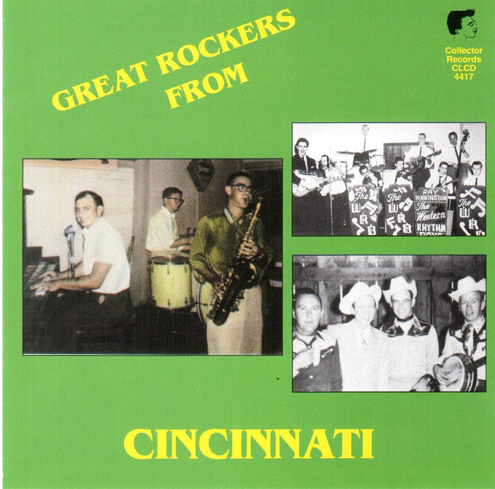 CD - VA - Great Rockers From Cincinnati