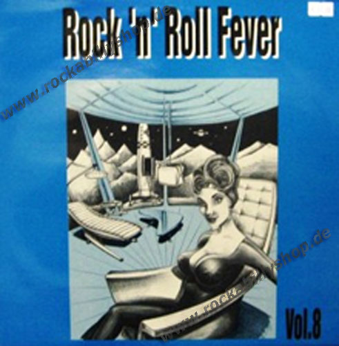 LP - VA - Rock'n'Roll Fever Vol. 8