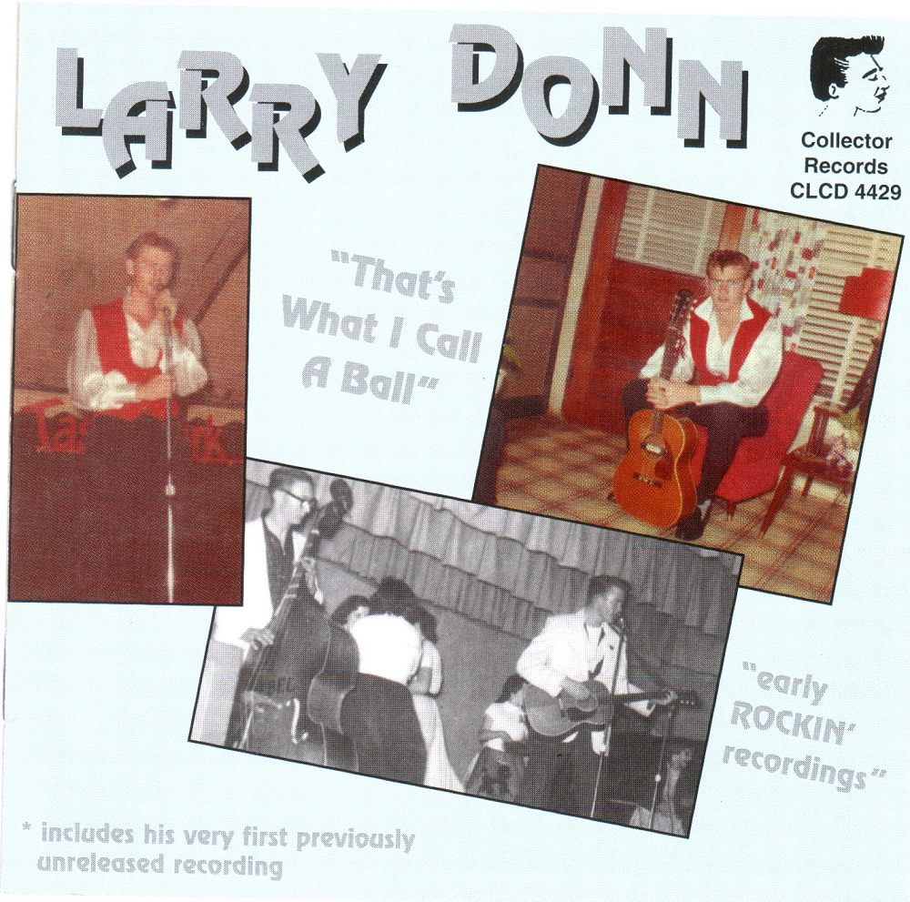 CD - Larry Donn - That's What I Call A Ball