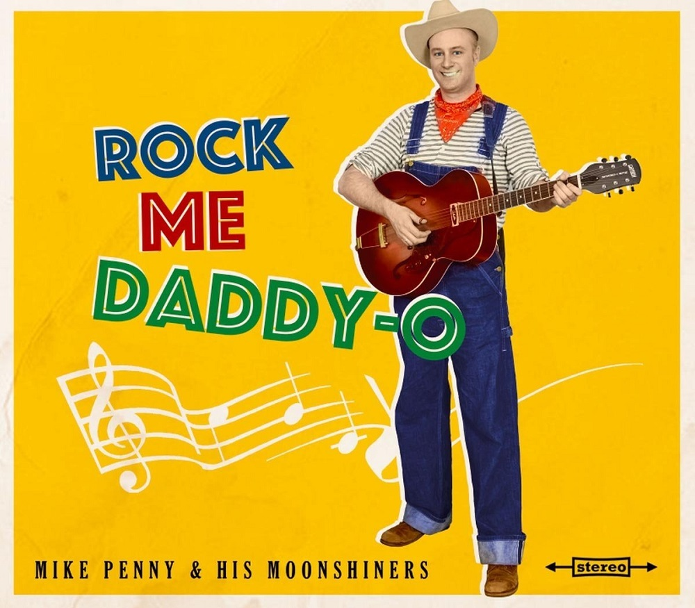 10inch - Mike Penny & his Moonshiners - Rock Me Daddy-O