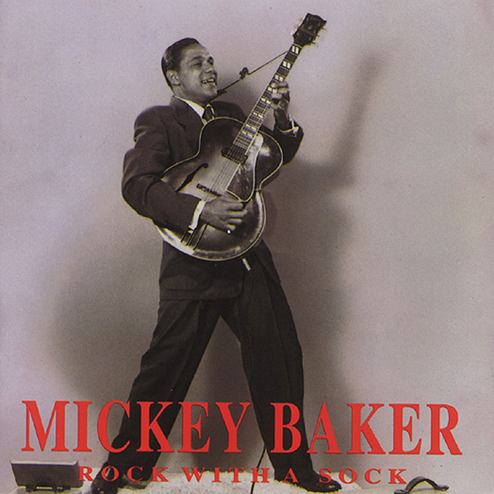 CD - Mickey Baker - Rock With A Sock