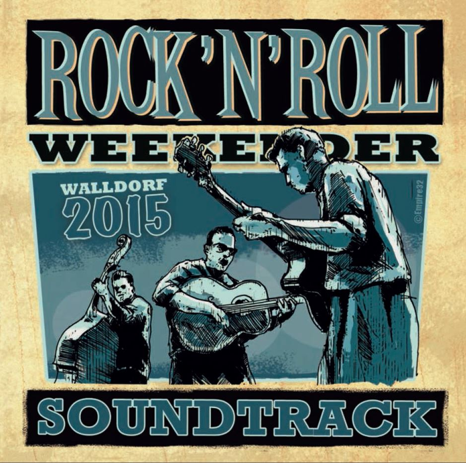 CD - VA - Walldorf Rock'n'Roll Weekender 2015