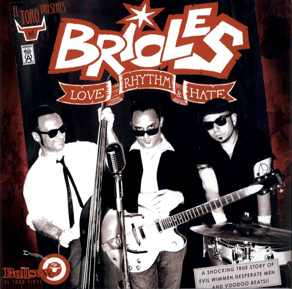 10inch - Brioles - Love Rhythm & Hate