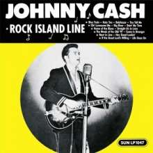 LP - Johnny Cash - Rock Island Line