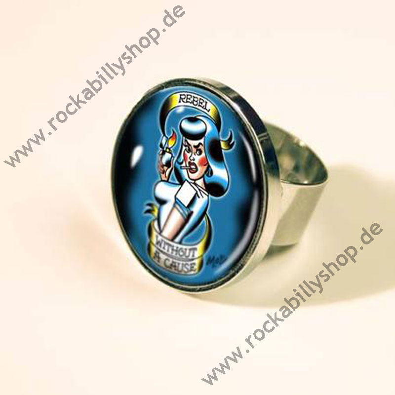 Ring - Mitch O'Connell - Tattoo Motiv